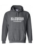 Nauburn Hoodie - Athletic Design in white