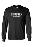Nauburn LS T-shirt - Athletic Design in white