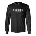 Nauburn LS T-shirt - Athletic Design in white